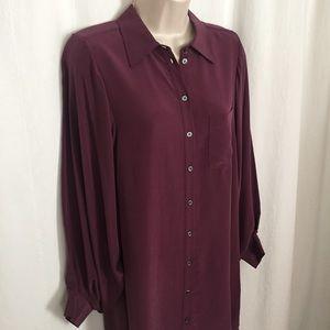 Joie XS Silk Shirt Dress